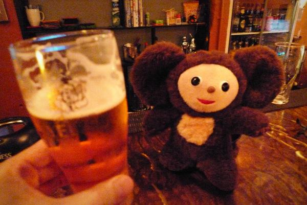 四条大宮スピナーズで生ビール