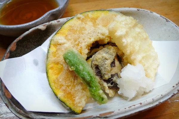 四条大宮 柚子の木 野菜の天ぷら