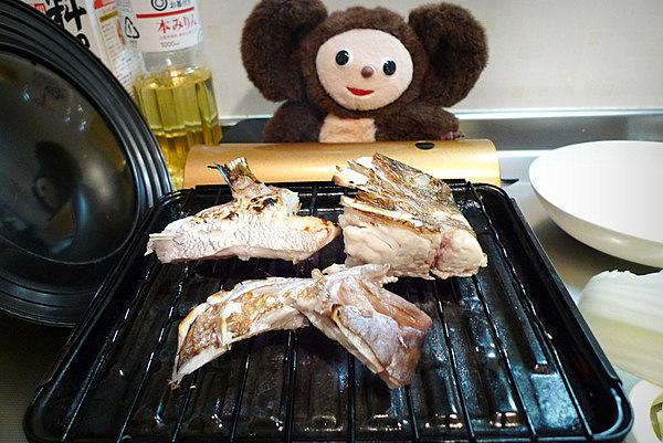 鯛ちり鍋の作り方(3)