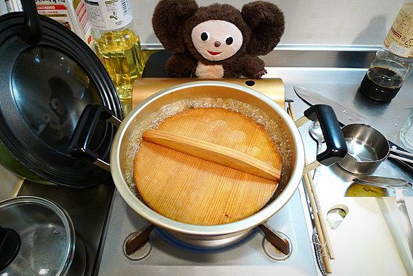 鯛あら煮付けの作り方(3)