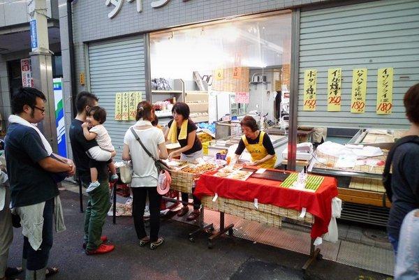 三条会商店街 夜店 ダイシン食料品店