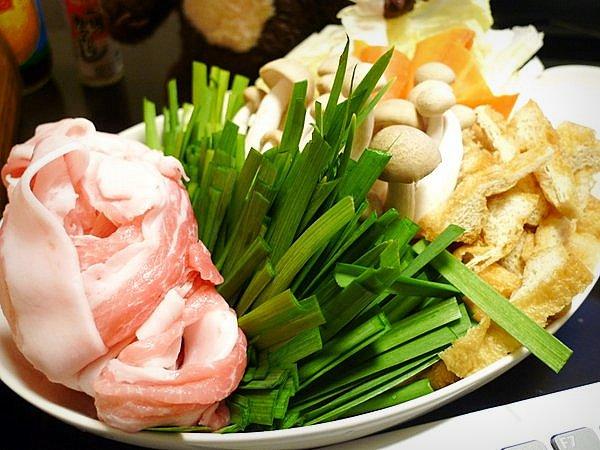 ニラと豚肉の鍋の作り方(2)