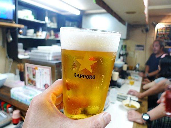 立ち飲みてら 生ビール