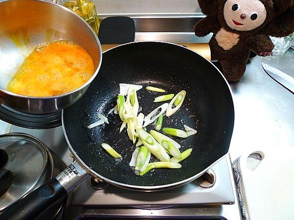 ネギの炒り玉子の作り方