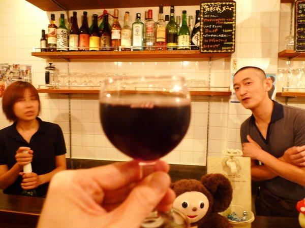京都 四条大宮 ピッコロ・ジャルディーノ 赤ワイン