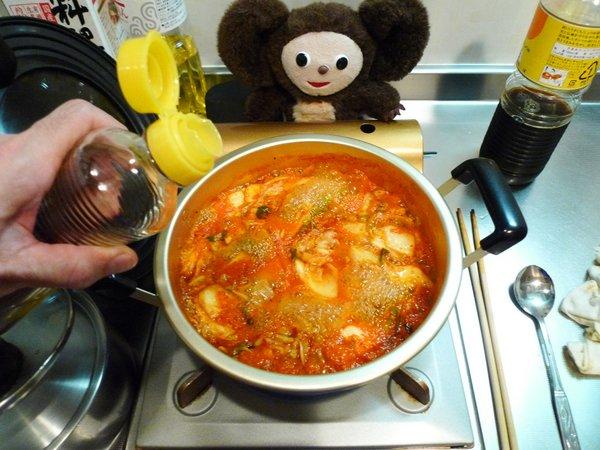 キムチ鍋の作り方(2)