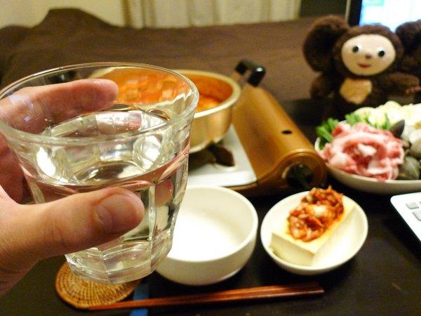 キムチ鍋には日本酒が合う