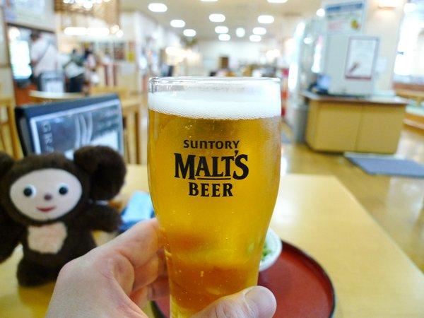 サウナ ビール