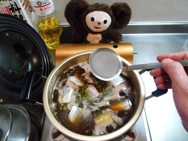 サンマ煮付けの作り方(2)