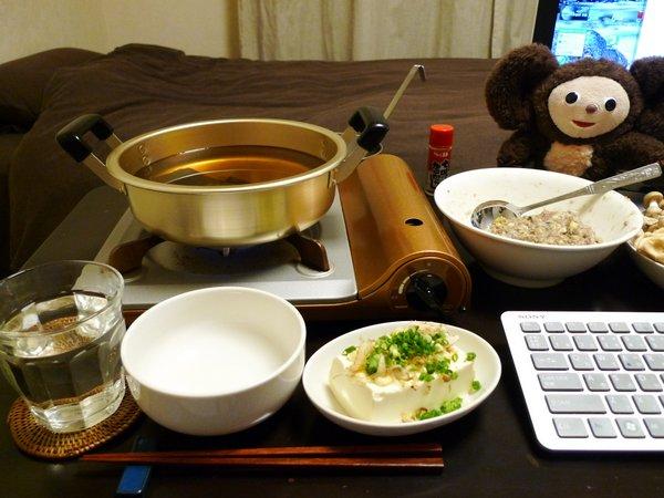 イワシのつみれ鍋の作り方(5)