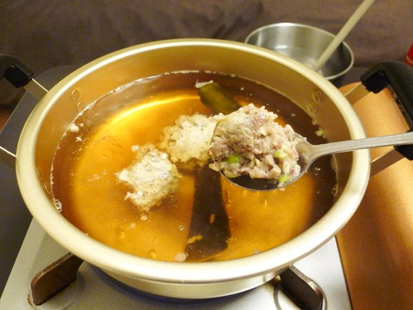 イワシのつみれ鍋の作り方(9)