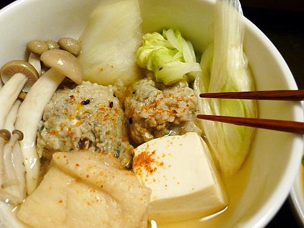 イワシのつみれ鍋の作り方(11)