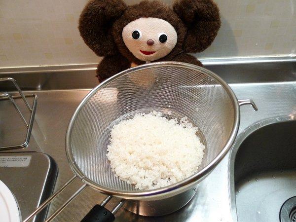 サンマの炊き込みご飯の作り方(2)