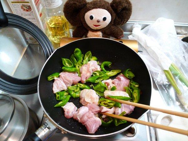 白菜と鶏肉のクッタリ煮作り方(1)