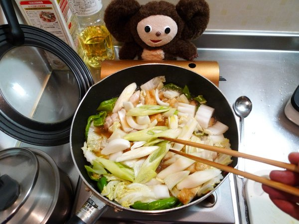 白菜と鶏肉のクッタリ煮作り方(3)