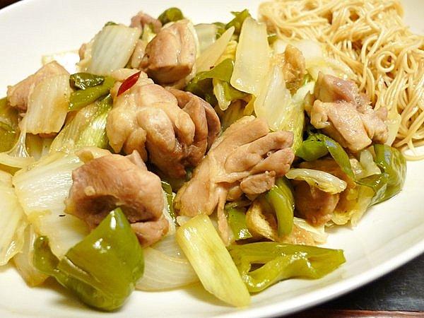 白菜と鶏肉のクッタリ煮