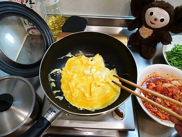 ニラ入り豚キムチの作り方(2)