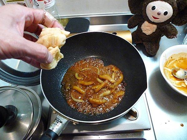 イカワタ味噌炒めの作り方(2)