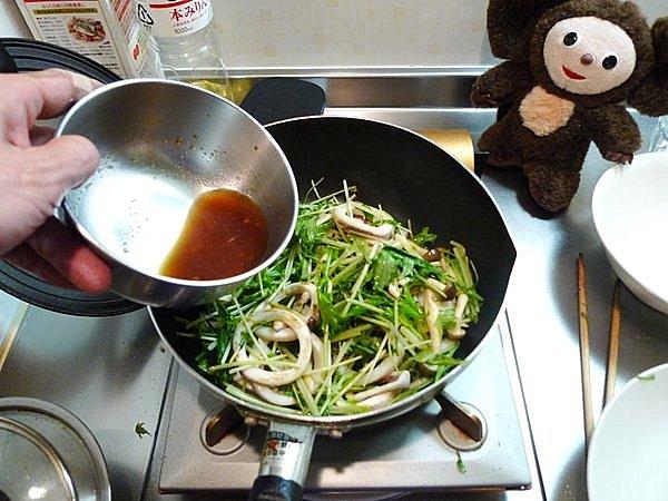 イカのショウガ焼き作り方(2)