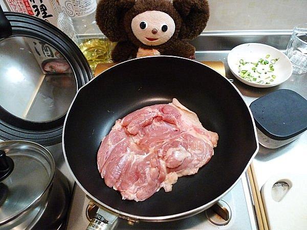 鶏モモ肉塩焼きの作り方(2)