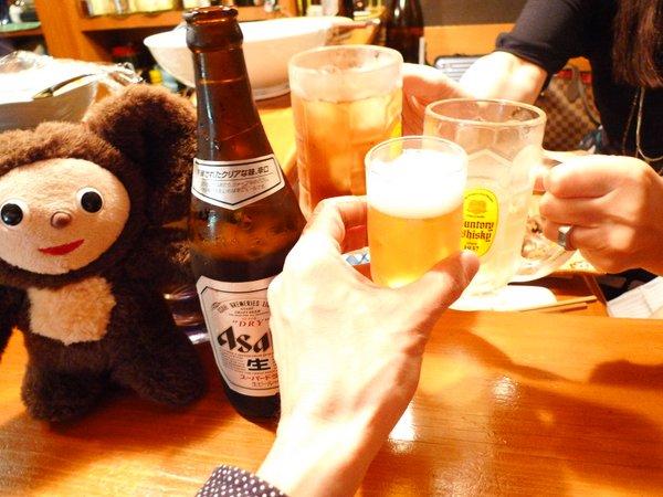 酒房京子 乾杯