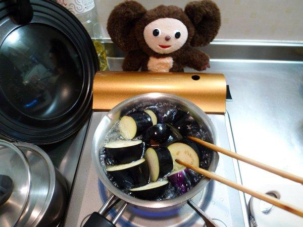 にしんとナスの炊合せ作り方(1)