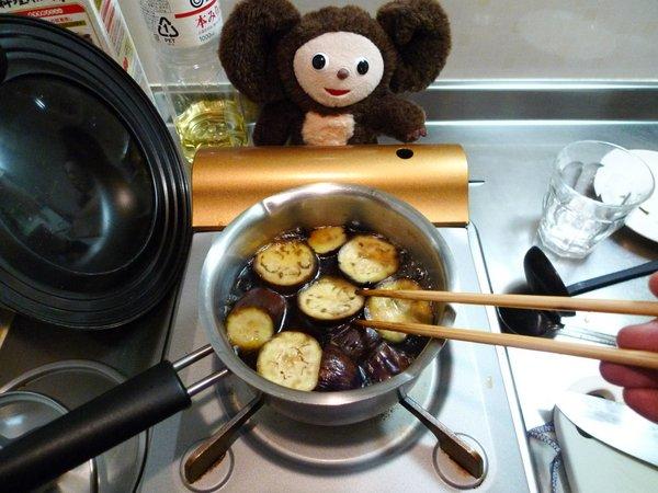 にしんとナスの炊合せ作り方(8)