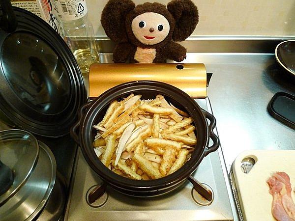 鶏めしの作り方(1)
