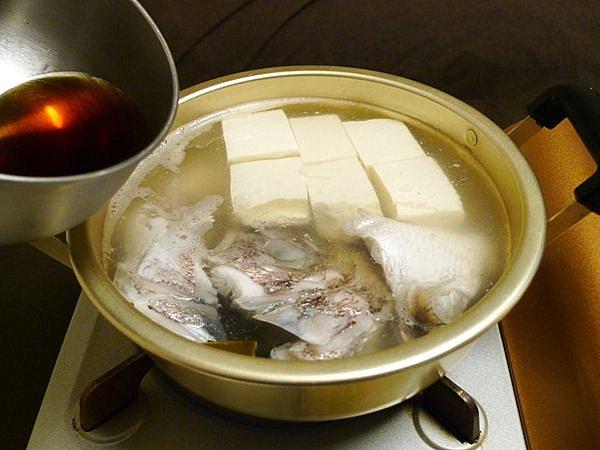 鯛の湯豆腐の作り方(4)