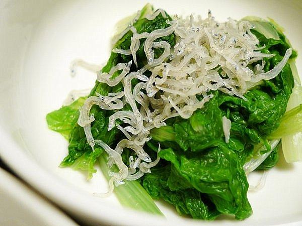 白菜菜(はくさいな)のおひたし