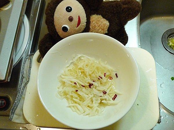 大根のサバ酢漬け作り方