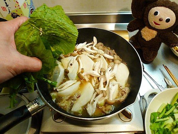 豚カブ炒め丼の作り方(3)