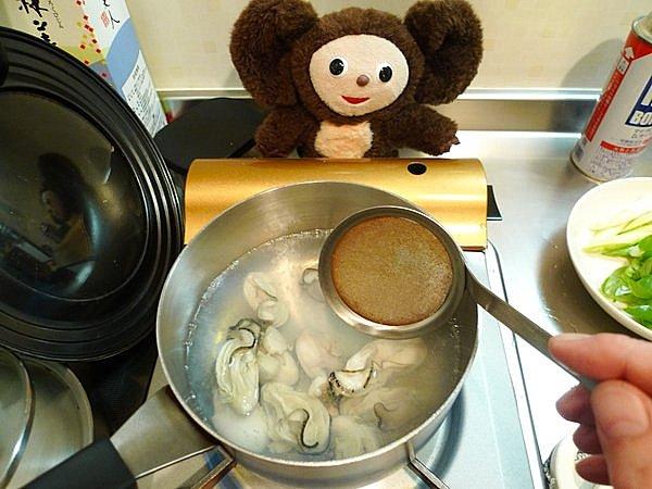 カキのぬた作り方(2)