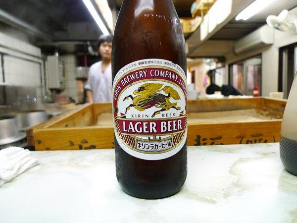新福菜館三条店 ビール お代わり