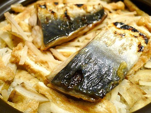 サバのご飯