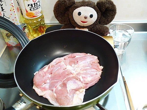 鶏ももやきおろしポン酢の作り方(1)