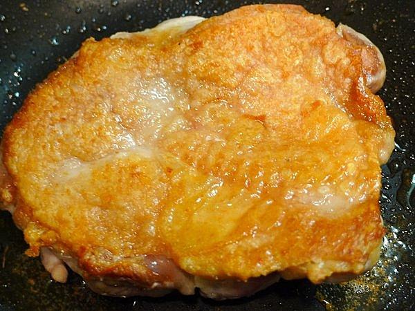 鶏ももやきおろしポン酢の作り方(2)