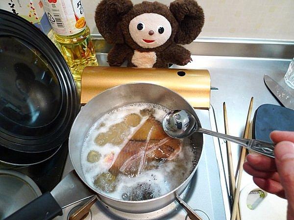 カレイ煮付けの作り方(2)