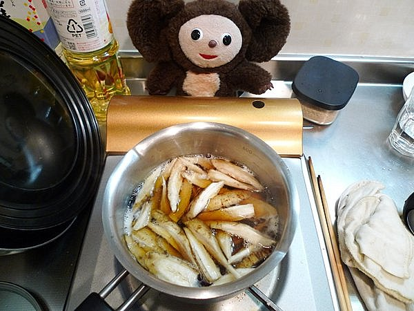 カレイ煮付けの作り方(5)