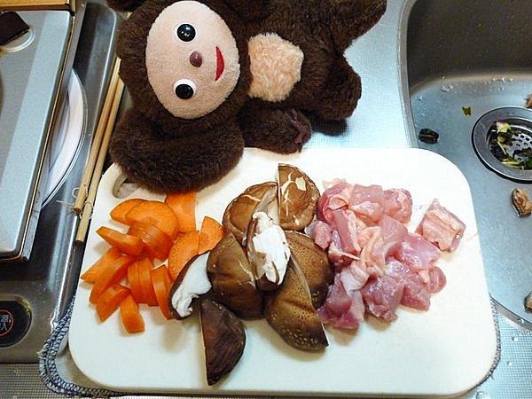 炒り豆腐の作り方(1)