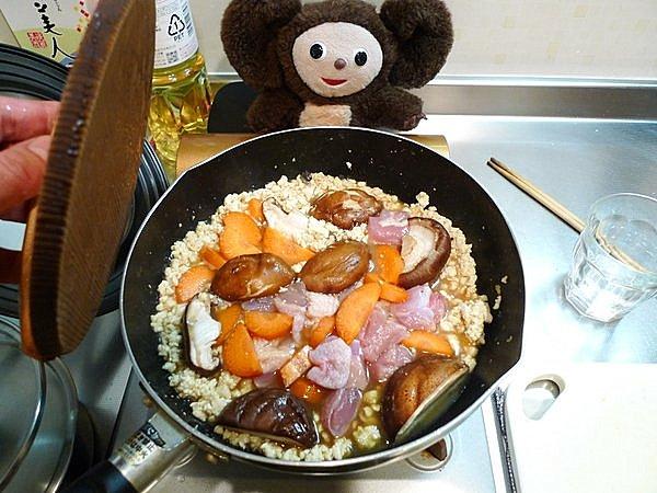 炒り豆腐の作り方(3)