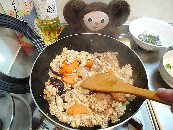 炒り豆腐の作り方(4)