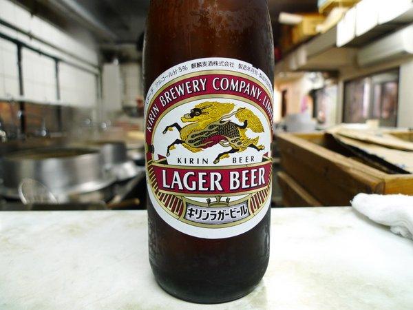 新福菜館三条店 ビール2本目