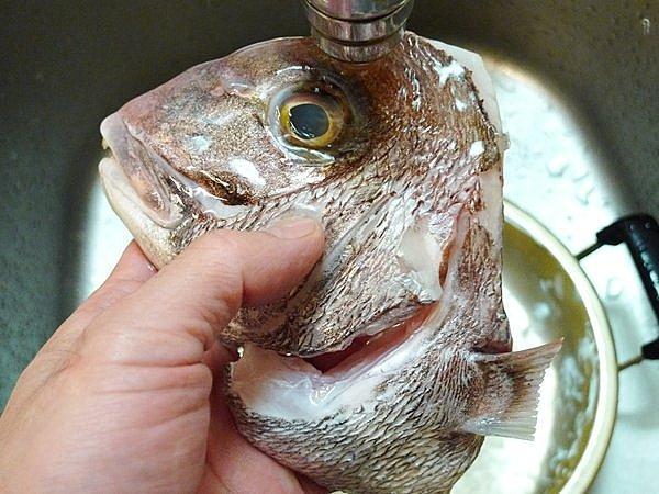 鯛のあら炊き作り方(2)