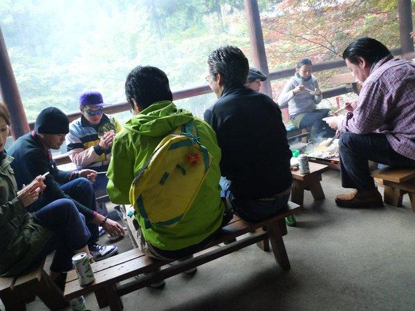 BBQ 焼き場