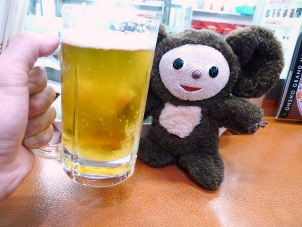 餃子の王将 ビール