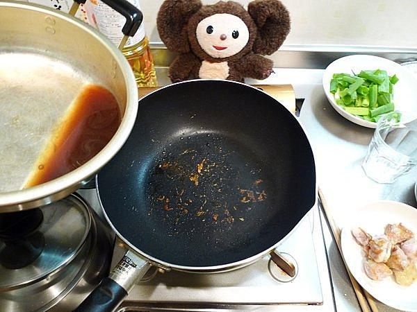 親子炒め作り方(2)
