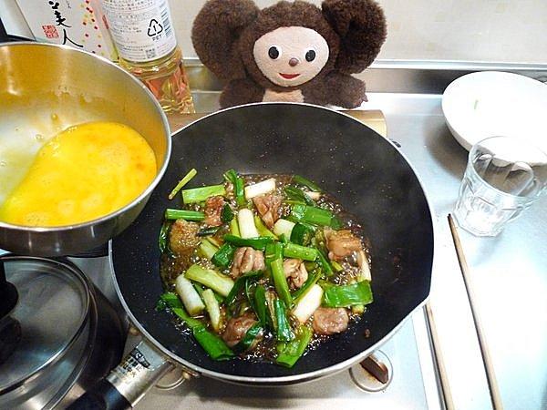 親子炒め作り方(3)