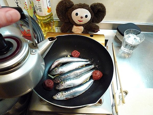 檀流イワシの煮付け作り方(1)