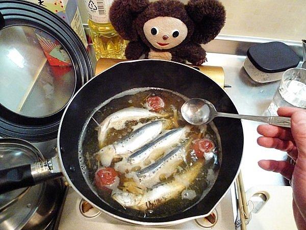 檀流イワシの煮付け作り方(2)